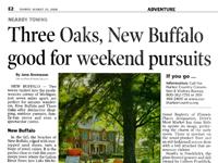 Three Oaks, New Buffalo good for weekend Pursuits